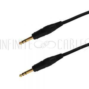 1/4 Inch TRS Male to 1/4 Inch TRS Male Cables - Premium - Infinite Cables