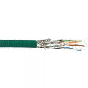 BK-C6AST-4GNS 1000ft 4 Pair Cat6a Stranded (SSTP) FT4/CMR Bulk Cable - Infinite Cables