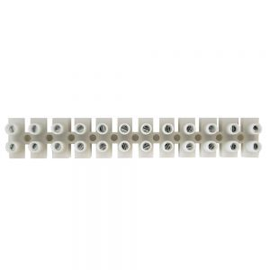 CN-TB12-50A Insulated Terminal Block - 12 circuit – 20AWG to 8AWG - Solid/Stranded - 50A - Infinite Cables