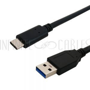 USB 3.1 Type C Male to A Male