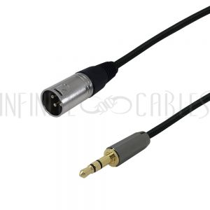 XLR Male to 3.5mm Male Cables - Premium