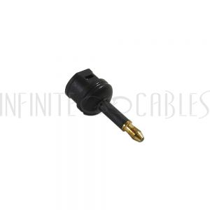 AD-T1T3 Toslink Female to Mini-Toslink Male Adapter - Infinite Cables
