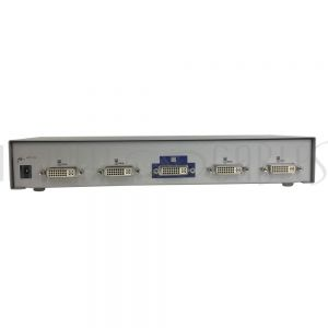 DRM-1714F 4-Port DVI Video Switch (4 Inputs, 1 Output Selector) - Infinite Cables
