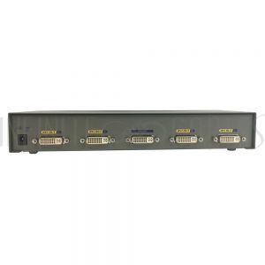 DS-914F 4-Port DVI Video Splitter, 1600x1200 Resolution