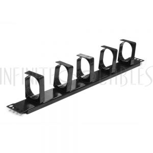 RM-400-1U 19 inch Horizontal Cable Management 1U Ring Type - Infinite Cables