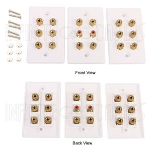 WPK-BAN8.2 8.2 Surround Sound Wall Plate Kit - Infinite Cables