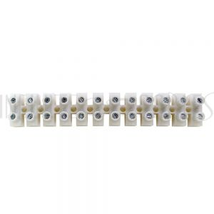 CN-TB12-30A Insulated Terminal Block, 12 circuit, 22-10AWG, 30A - Infinite Cables