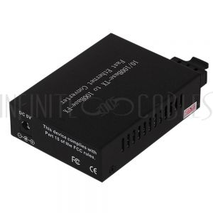 FO-MC1000 10/100 Multimode Media Converter 2km SC