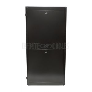 """RM-1110 42U Server Cabinet with Fan Tray, Black (78.6""""H x 23.6""""W x 43.4""""D) - Infinite Cables"""