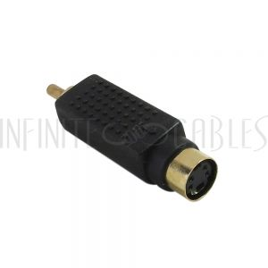 AD-S1R0 S-Video Female to RCA Male Adapter - Infinite Cables