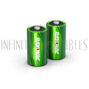 BT-NIMH-C-2 Rayovac C Rechargeable NiMH Batteries (2 per pack)