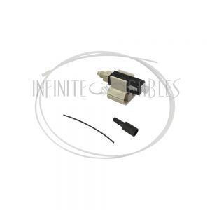 FO-FAST-SC-MM50-6 FASTCONNECT SC MM OM2 Black Connector - 6 Pack - Infinite Cables
