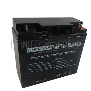 BT-12V-18A-2PCS Sealed Lead Acid Battery 12V 18amp x 2