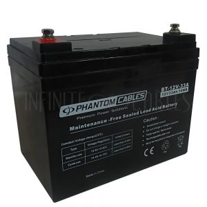 BT-12V-33A Sealed Lead Acid Battery 12V 33amp