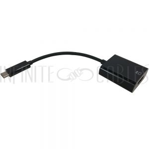 AD-UC-HD01 USB 3.1 Type C to HDMI (4Kx2K @60hz) Adapter - Black - Infinite Cables