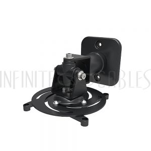 MT-803-BK Projector Wall/Ceiling Mount, 4 Arm Tilt & Rotate Adjustable  Length 220mm Black