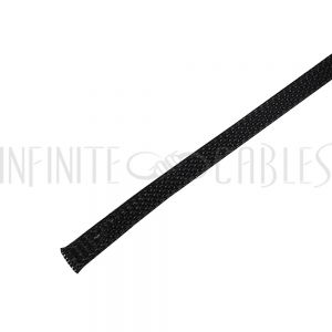 BS-PT038-500BK 500ft 3/8 inch Sleeving Black - Infinite Cables