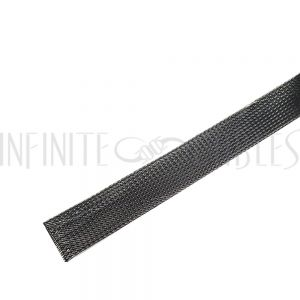 BS-PT125-250CB 250ft 1 1/4 inch Sleeving Carbon