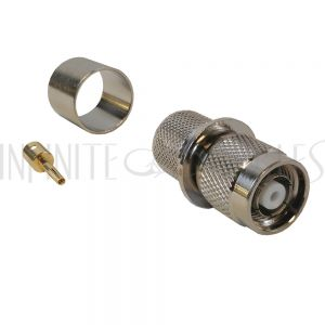 CN-22-600 TNC Reverse Polarity Male Crimp Connector for LMR-600 50 Ohm