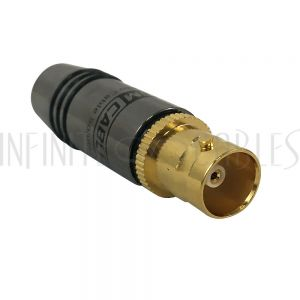 CN-SBNCF-4.5BK Premium BNC Female Solder Connector - Infinite Cables