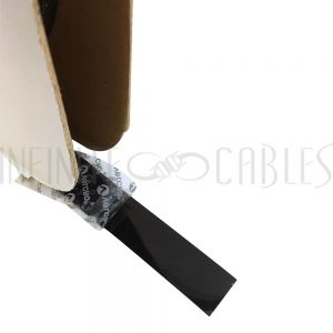 VL-AD100H-75BK 75ft 1 inch Velcro® Brand Hook 705 Adhesive Back Wrap - Black (per roll) - Part No. 152880 - Infinite Cables