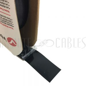 VL-AD200H-75BK 75ft 2 inch Velcro® Brand Hook 705 Adhesive Back Wrap - Black (per roll) - Part No. 153457 - Infinite Cables