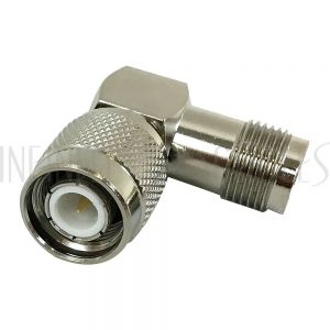 AD-2021-RA TNC Male to TNC Female Adapter - Right Angle