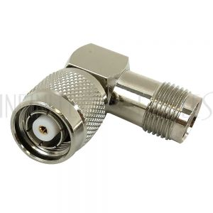 AD-2223-RA TNC-RP Male to TNC-RP Female Adapter - Right Angle