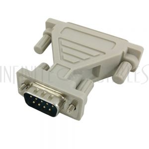 AD-DB925-03 DB9 Male to DB25 Male Serial Adapter