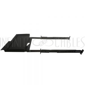 RM-370 19 Inch Sliding Keyboard Shelf (10 inch depth) - 2U - Infinite Cables