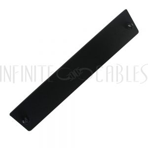 PP-FABNK-BK Blank Adapter Panel - Black - Infinite Cables