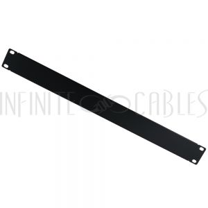 RM-600-1U Blank Filler Panels - Black 1U - Infinite Cables