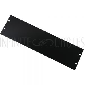 RM-600-3U Blank Filler Panels - Black 3U