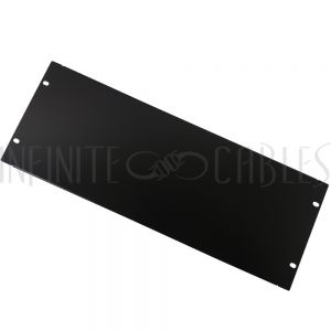RM-600-4U Blank Filler Panels - Black 4U