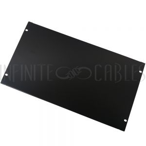 RM-600-6U Blank Filler Panels - Black 6U - Infinite Cables