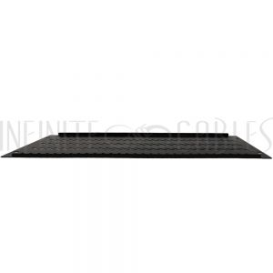RM-600V-5U Blank Filler Panels - Black 5U - Vented