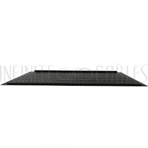 RM-600V-6U Blank Filler Panels - Black 6U - Vented