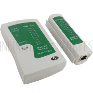 TL-TE-RJ Tester for UTP/STP 4 Pair Cat5E/6 Network Cable - Infinite Cables