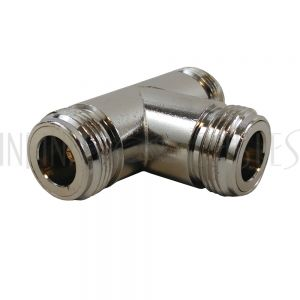 AD-01-FFF N-Type Female to 2 x N-Type Female - Tee Adapter