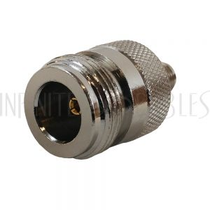 AD-0113 N-Type Female to SMA-RP (Reverse Polarity) Female Adapter - Infinite Cables