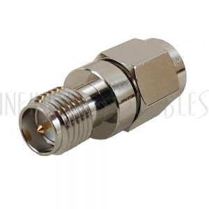 AD-1013 SMA Male to SMA-RP Female Adapter - Infinite Cables