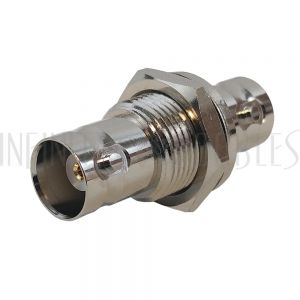 AD-3131-BH BNC Female to BNC Female Adapter - 50 ohm Bulkhead - Infinite Cables