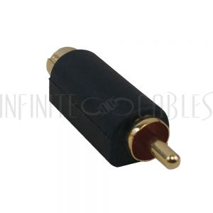 AD-S0R0 S-Video Male to RCA Male Adapter