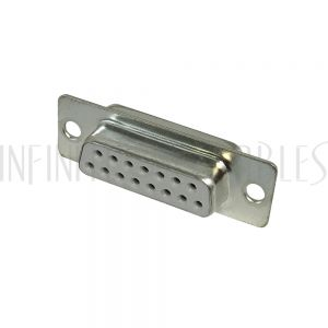 CN-DB15-SF DB15 Solder Cup Connector - Female - Infinite Cables