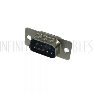 CN-DB9-SM DB9 Solder Cup Connector - Male - Infinite Cables