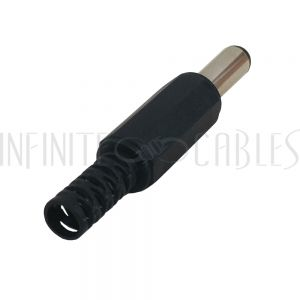 CN-DCM DC Power Connector Male 2.1mm x 5.5mm Plastic Shell - Infinite Cables