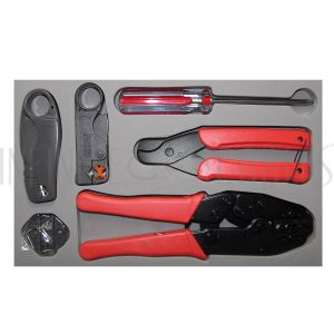 TL-RF-KIT RF Crimp/Strip Tool Kit - Infinite Cables