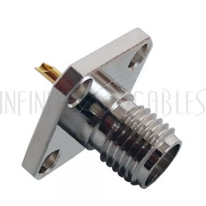 CN-16P-SLD SMA Female Panel Mount Solder Type Connector - Infinite Cables