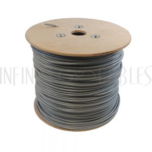 BK-T1 1000ft 2 Pair 24AWG Individually Shielded 100 Ohm T1 Cable - Grey