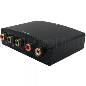 VC-102 Video Converter - HDMI to Component + Audio - Infinite Cables